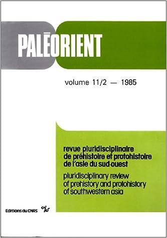 Livre gratuits en ligne Paléorient, numéro 11 : 2 - 1985 epub pdf