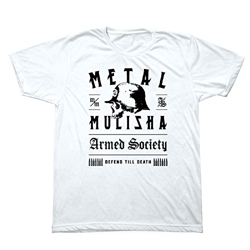 Metal Mulisha Mens Graphic Death Logo Tee T-Shirt