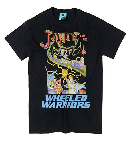 Jayce and The Wheeled Warriors Black T Shirt - TV Show Tees (Jayce And The Wheeled Warriors T Shirt)