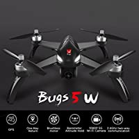 Rucan B5W WiFi FPV 1080P Camera High-Capacity Battery One-Key Focus RC Drone RTF