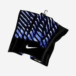 Nike Faceclub Jacquard Towel, Blackwhitemilitary Blue