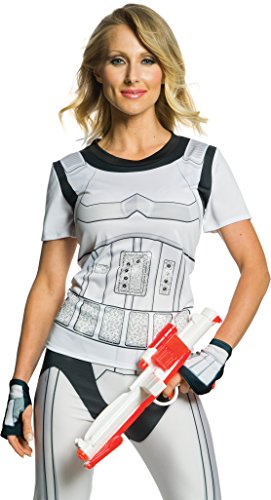 Rubie's Adult Star Wars Stormtrooper Rhinestone Costume T-shirt, Small -