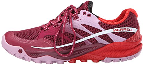 Asfalto Bright De Running Red Para Charge Zapatillas Merrellall Mujer Out gqTFPf