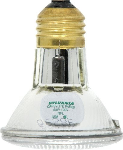 30 Degree 39w Single - Sylvania 14502 50 Watt PAR20 Narrow Flood Light Bulb / 30 Degree Beam Spread / 120 Volt / 50PAR20