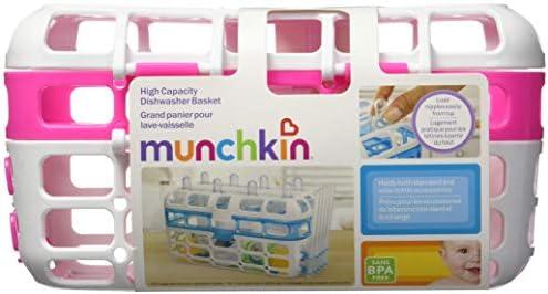 Munchkin de alta capacidad cesta para lavavajillas rosa rosa ...