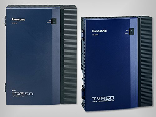 Panasonic KX-TDA50G Digital/Hybrid Voice Processing Phone System + Panasonic KX-TVA50 Voice Mail System