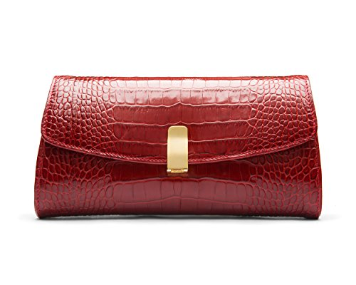 SageBrown SageBrown Melanie Croc Bag Melanie Red UOq8qY