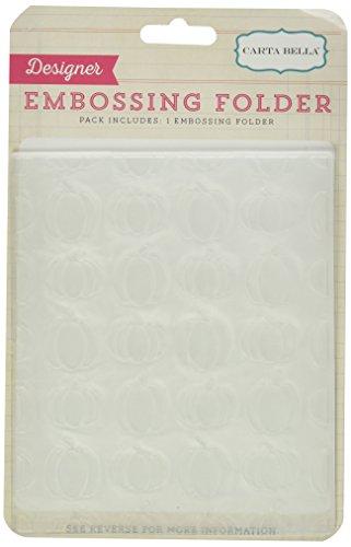 Carta Bella Paper Company Trick or Treat Embossing Folders Pumpkins