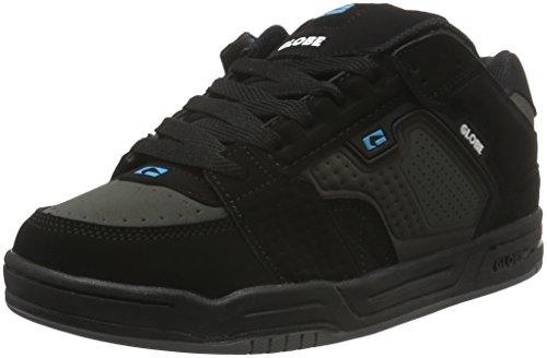Blue Scribe Black Nero Basse Globe Sneaker Charcoal Uomo 4w06qnxC