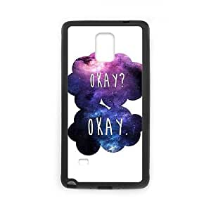 Samsung Galaxy Note 4 Cell Phone Case Black OKAY SPZ Durable Cell Phone Cases