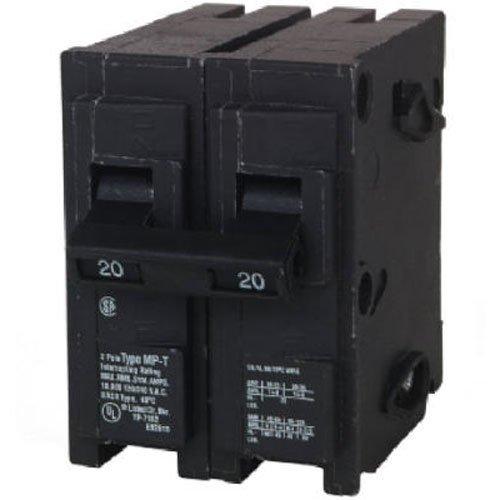 MP215 15-Amp Double Pole Type MP-T Circuit Breaker