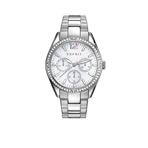 Esprit Women's 36mm Steel Bracelet & Case Quartz MOP Dial Analog Watch ES108932001