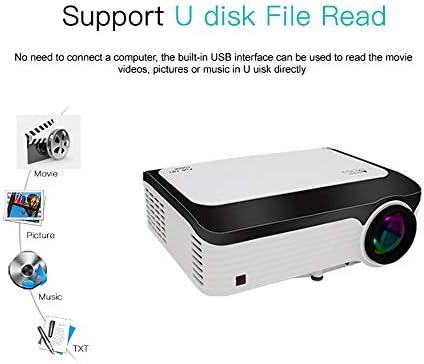 Proyector WiFi inalámbrico, Mini proyector de vídeo LED portátil ...