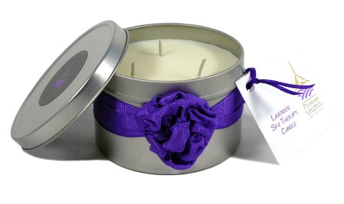 Pelindaba Lavender Spa Therapy Massage Oil Candle by Pelindaba Lavender