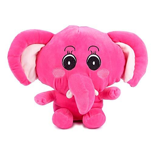 BigBrat Elephant Soft Toy  12 Inches, Pink