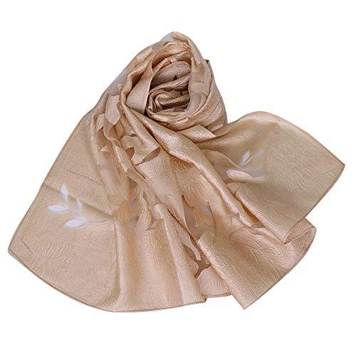 Translucent Floral Shawl Scarf, G-real Elegant Ladies Women New Fashion Wrap Soft Female Scarf