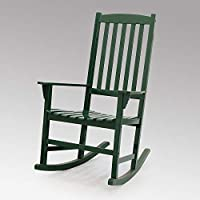 Cambridge Casual Solid Wood Bentley Porch Rocking Chair, Hunter Green