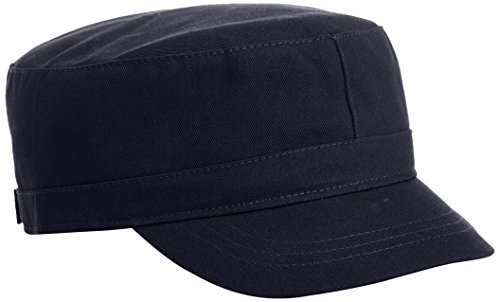 Kangol Unisex-Adult's Cotton Adjustable Army Cap, Navy, S/M