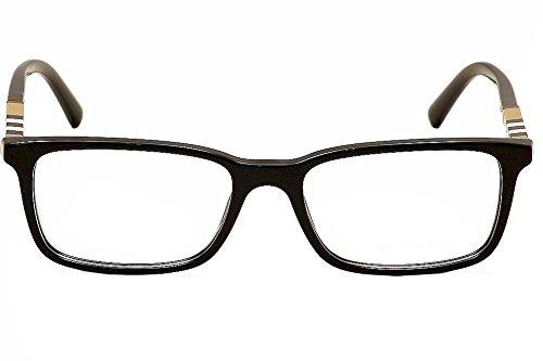Burberry Eyeglasses BE2199 BE/2199 3001 Black Full Rim ...