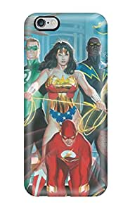 Iphone 6 Plus Case Cover Skin : Premium High Quality The Justice League Painting Case