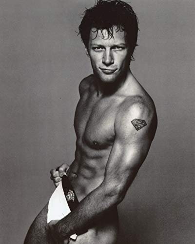 Jon Bon Jovi Shirtless 8x10 Photo #X1237
