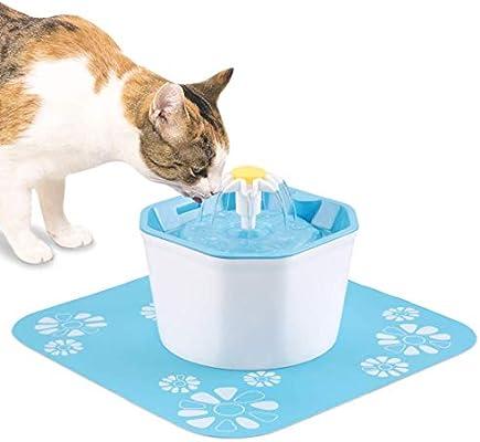 DOOK Bebedero Gatos Fuente Silencioso 1,6L para Perros y Gatos Bebedero Automático Fuente de Agua para Mascotas 3 Modos Ajustable y con 2 Filtros: Amazon.es: Deportes y aire libre