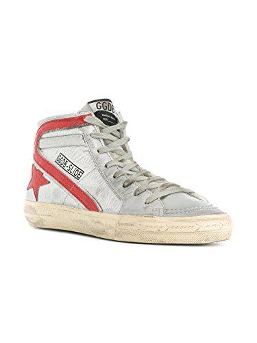 Pelle Top Argento Goose Donna Garws595f7 Golden Hi Sneakers Y1wUx8