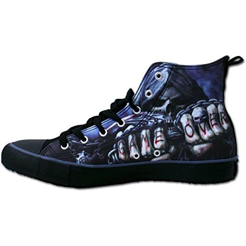 Spirale - SPIEL ÜBER - Sneakers - Herren High Top Laceup, Freie Tasche, 2 Sets Schnürsenkel