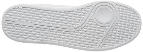 Ralph Lauren Quilton, Zapatillas Unisex Niños blanco (White Leather)