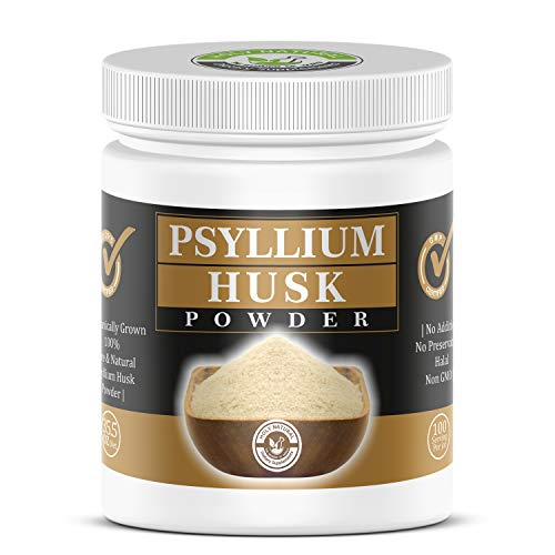100% Pure Psyllium Husk Powder- 35.5 oz (2.2 lb) Fiber Supplement (No additive, No preservative, Non GMO)- Perfect for Keto Bread & Gluten Free Baking
