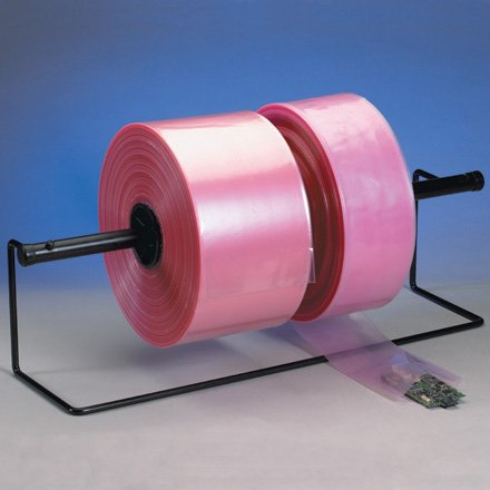 9'' x 1075' - 4 Mil Anti-Static Poly Tubing, 1 ROLL by Plexon Products