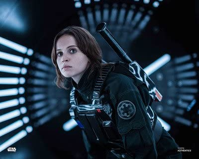 CHOOSE YOUR SIZE Rogue One Poster Star Wars Felicity Jones as Jyn Erso FREE P+P