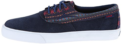 LAKAI Skate Shoes CAMBY NAVY SUEDE Size 8