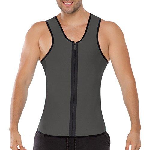 ACME Herren Abnehmen Bauch Körper Fitnessgürtel Former Tank Top Taille Shapewear für weight loss XXL