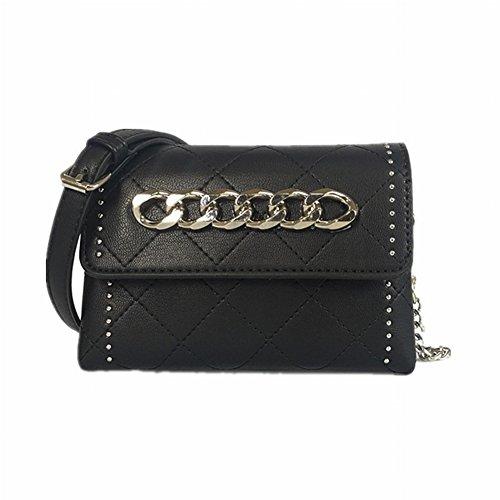 Weibliche Allgleiches Messenger Bag Weibliche Schulter Mini Tasche Weibliche Kleine Quadratische Paket Retro Kette Weibliche , grau