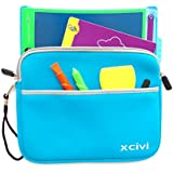 Xcivi Neoprene Protective Carry Case for Boogie Board Magic Sketch Kit (Blue)