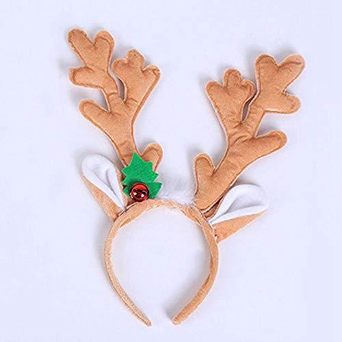 Headband Horns Cosplay Antlers Christmas Deer Ears Headband