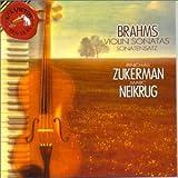 Brahms: Sonatas for Violin and Piano, 1 in G, Op. 78 / 2 in A, Op. 100 / 3 in D minor, Op. 108 / Scherzo in C minor