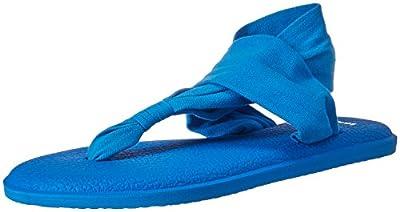 Sanuk Women's Yoga Sling 2 Solid Vintage Flip-Flop