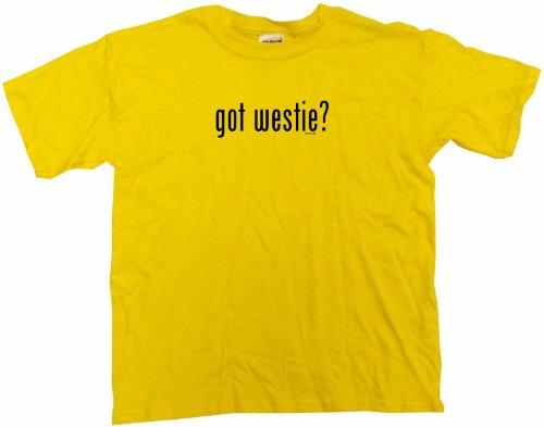 (Got Westie Men's Tee Shirt 3XL-Yellow)