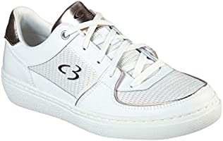 Concept 3 by Skechers Women's Eyez on Her Lace-up Fashion Sneaker