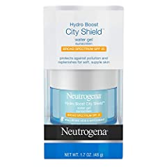 Help protect your skin from dryness, pollution, and sun damage with Neutrogena Hydro Boost City Shield Water Gel with Broad Spectrum SPF 25. Suitable for all skin types, this hydrating water gel helps fight the signs of tired, dull-looking sk...