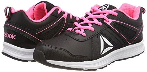 White Running Almotio Zing para 3 Mujer Zapatillas Reebok de Negro Pink 0 Black 000 Trail wYp4qO4