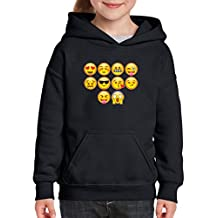 Xekia Emoji Entourage Unisex Hoodie For Girls and Boys Youth Kids Sweatshirt Clothing