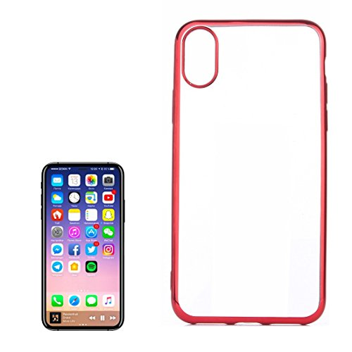 Tuff-Luv TPU Schutzhülle für Apple iPhone 8 - Rot