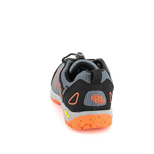 Lico Jungen, Mädchen Sneaker ATLANTA Nylon grau, EU 41