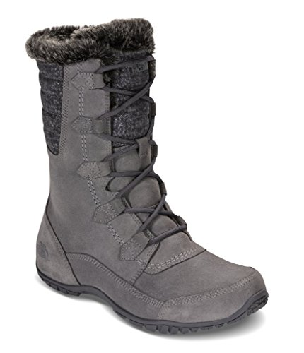 The North Face Women's Nuptse Purna II Boot - Frost Grey/Iron Gate Grey - 7.5 North Face Womens Boots