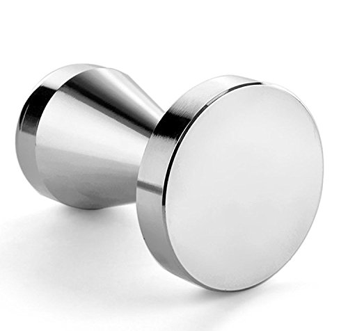 Topoton Stainless Steel Coffee Tamper Barista Espresso Tamper 51mm Base Coffee Bean Press