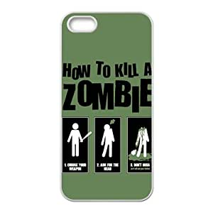 Happy Kill Zombie Cell Phone Case for Iphone 5s