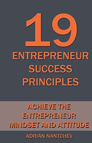 19 Entrepreneur Success Principles Attitude ebook product image